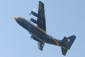 Fat Albert going up!