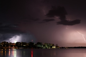 Lightning Over Madison