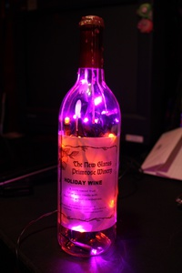 LEDs in a bottle