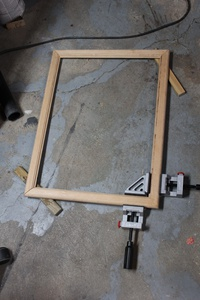 Glueing the Frame