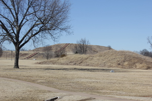 Monks Mound at Cahokia