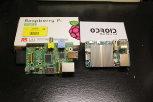 Raspberry Pi and Oroid