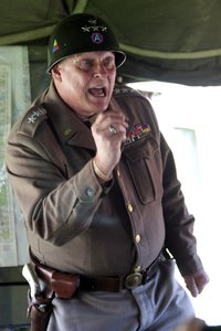 Actor Playing Gen. George S. Patton