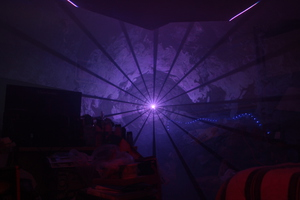 White Laser Tunnel