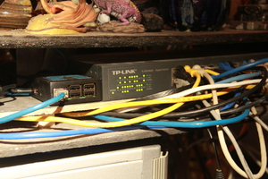 Web-Pi and Ethernet Switch